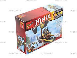 Конструктор «Ninja и его транспорт», 107-1-8, купить