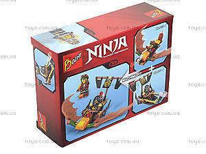 Конструктор «Ninja и его транспорт», 107-1-8, фото