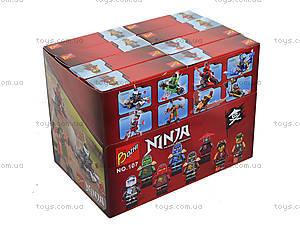 Конструктор «Ninja и его транспорт», 107-1-8, игрушки