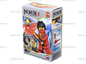 Конструктор для детей «Новые герои-ниндзя», 820014-21, купить