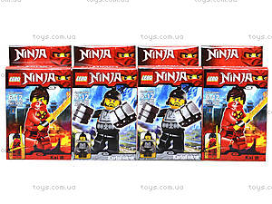 Конструктор Ninja «Мастера боевых искусств», 1748-1, фото