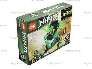 Конструктор Ninja «Ниндзя с транспортом», SX3005