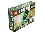Конструктор Ninja «Ниндзя с транспортом», SX3005, купить