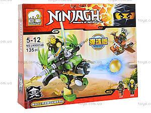 Конструктор Ninja «Летающий фантом», JX80014, фото