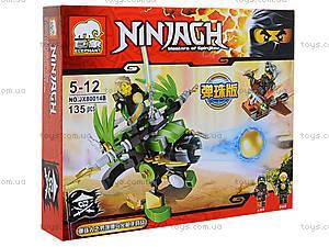 Конструктор Ninja «Летающий фантом», JX80014, игрушки