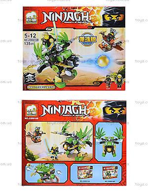 Конструктор Ninja «Летающий фантом», JX80014, детские игрушки