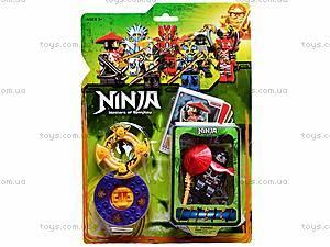 Конструктор «Ниндзя» на планшете, 9372, детские игрушки