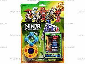 Конструктор «Ниндзя» на планшете, 9372, магазин игрушек