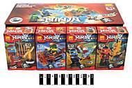 Конструктор Ninja «Персонажи», 79268, фото