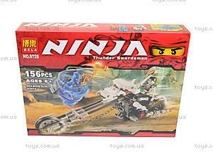 Конструктор для детей «Призрачный гонщик», 9728, детские игрушки
