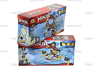 Конструктор Ninja «Атака с воздуха», 32054, фото