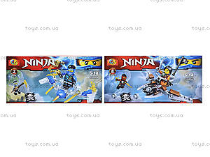 Конструктор Ninja «Атака с воздуха», 32054, игрушки