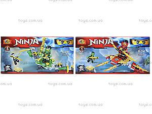 Конструктор Ninja «Атака с воздуха», 32054, магазин игрушек