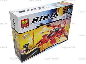 Детский конструктор «Самолет для ниндзя», 10219
