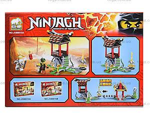 Конструктор Ninja «Сражение с Сэнсэем», JX80015, купить