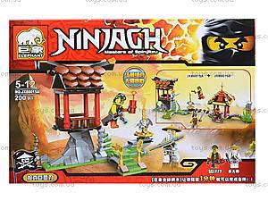 Конструктор Ninja «Сражение с Сэнсэем», JX80015, отзывы