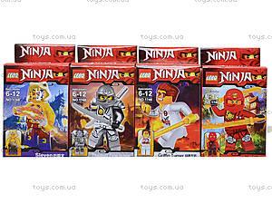 Конструктор детский «Персонажи серии Ninja», 1748, отзывы