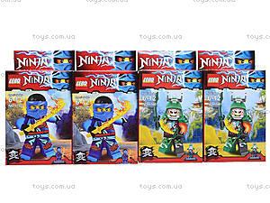Конструктор Ninja «Ниндзя с огненным мечом», 1760-1, купить