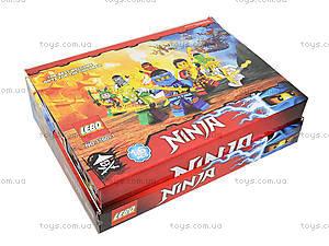 Конструктор Ninja «Ниндзя с огненным мечом», 1760-1, магазин игрушек