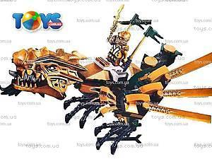 Конструктор для детей «Золотой Дракон», 9793