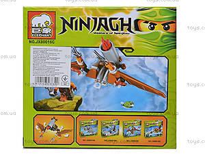 Конструктор Ninjagh «Герой с транспортом», JX80016, фото