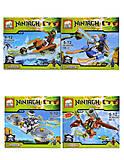 Конструктор Ninjagh «Герой с транспортом», JX80016, отзывы
