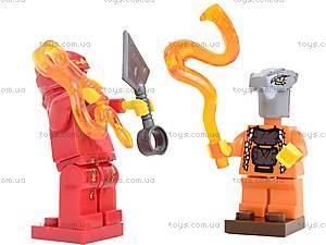 Детский конструктор «Герои-ниндзя», 9773, магазин игрушек