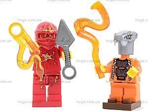 Детский конструктор «Герои-ниндзя», 9773, toys.com.ua