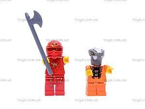 Детский конструктор «Герои-ниндзя», 9773, фото