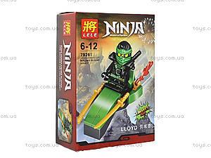 Конструктор с героем Ninjago, 8 видов, 79261, купить