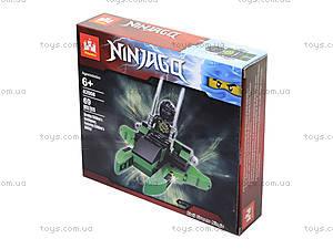 Конструктор Ninjago «Воин с мечами», 81 деталь, 82008, фото