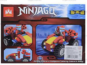 Конструктор Ninjago «Боевой джип», 86 деталей, 82007, купить