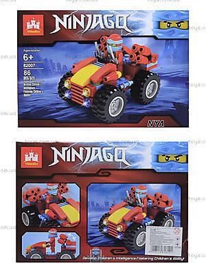 Конструктор Ninjago «Боевой джип», 86 деталей, 82007