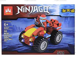 Конструктор Ninjago «Боевой джип», 86 деталей, 82007, отзывы