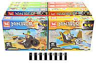 Конструктор «Ninjago» машинки, самолеты, TM6100, купить