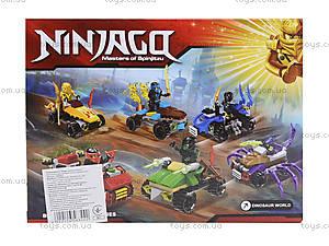 Детский конструктор Ninjago «Погоня на квадроцикле», 76053, фото