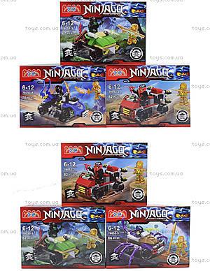 Детский конструктор Ninjago «Погоня на квадроцикле», 76053