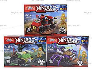 Детский конструктор Ninjago «Погоня на квадроцикле», 76053, отзывы