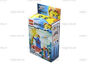 Конструктор «Новые герои-ниндзя», 3D7901, детские игрушки