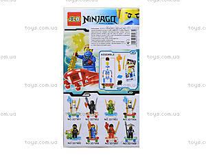 Конструктор «Новые герои-ниндзя», 3D7901, магазин игрушек