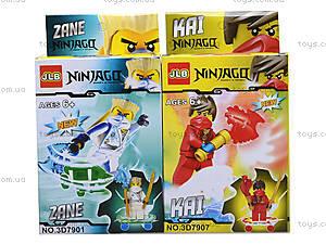 Конструктор «Новые герои-ниндзя», 3D7901, toys