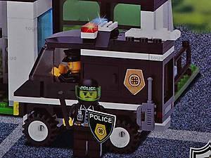 Конструктор «Офис полиции», 129, магазин игрушек