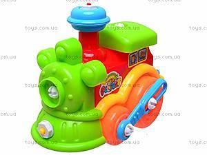 Конструктор «Паровозик», для малышей, 5321, игрушки
