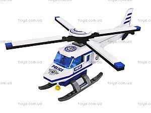 Конструктор «Патрульный вертолет»,101 деталь, 23407, фото