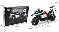 Конструктор «Патрульный мотоцикл» 1075 деталей, 03019