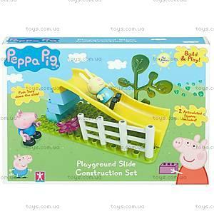 Конструктор Peppa «Игровая площадка», 9 деталей, 06031, фото