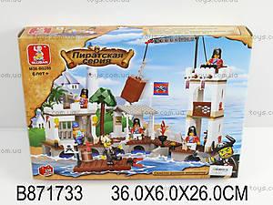 Конструктор «Пиратская серия», 339 элементов, M38-B0280
