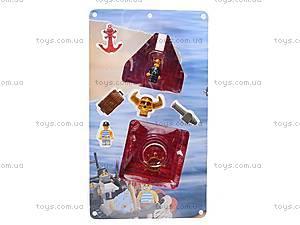 Конструктор «Пиратская серия», 512 деталей, M38-B0128R, магазин игрушек