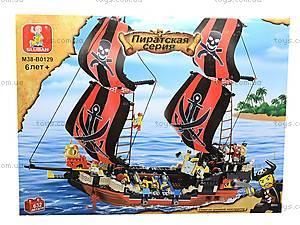 Конструктор «Пиратская серия», 632 деталей, M38-B0129R, toys