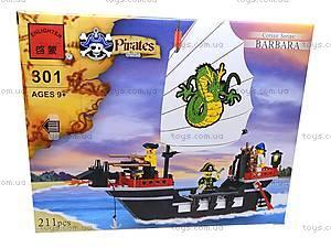 Конструктор «Пиратский корабль Барбара», 301, фото